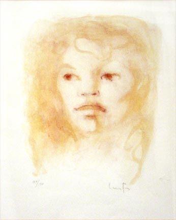 Lithographie Fini - Untitled Portrait