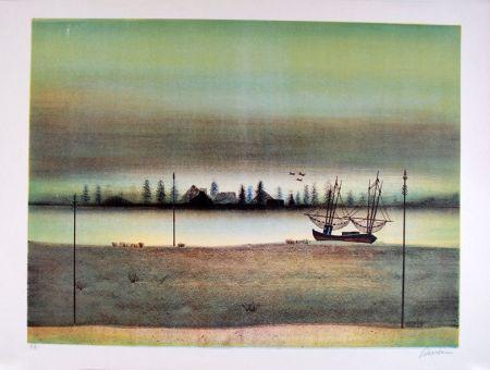Lithographie Rivera - Untitled Sans Titre