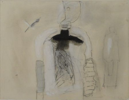 """Monotype Falk - Untitled (""""Stromboli"""")"""