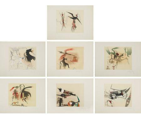 Eau-Forte Et Aquatinte Lam - Untitled Suite (TR 7901-7907)