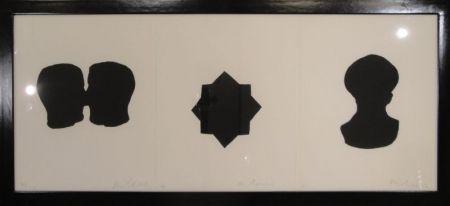 Gravure Blais - Untitled triptych