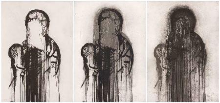 Gravure Plensa - Untitled (Triptych)