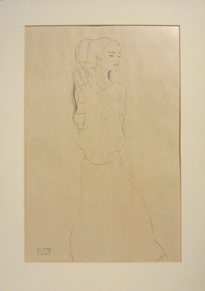 Lithographie Klimt - Untitled VI