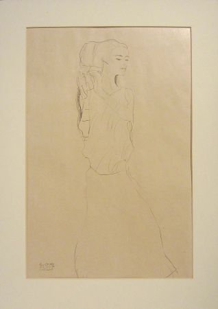 Lithographie Klimt - Untitled VI