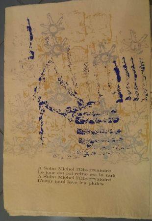 Lithographie Arman - UNTITLEDRITOURNELLE pour SAINT MICHEL L'OBSERVATOIR