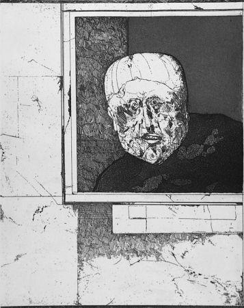 Eau-Forte Plattner - Uomo alla finestra