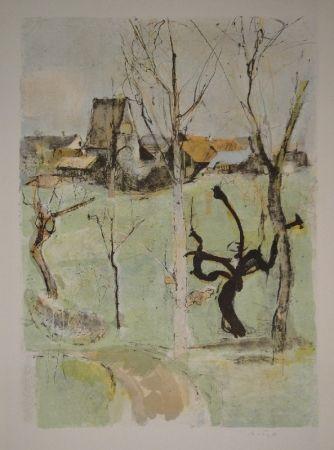 Lithographie Falk - Urdorf