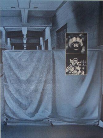 Sérigraphie Monory - USA 76 - Singes