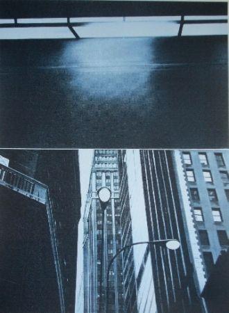 Sérigraphie Monory - Usa 76 - Skyscrapers