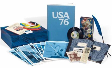 Livre Illustré Monory - USA 76. Bicentenaire Kit.