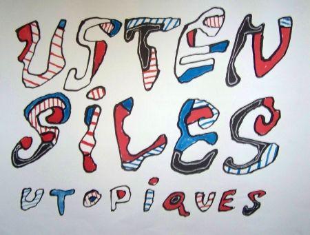 Affiche Dubuffet - Ustensiles utopiques