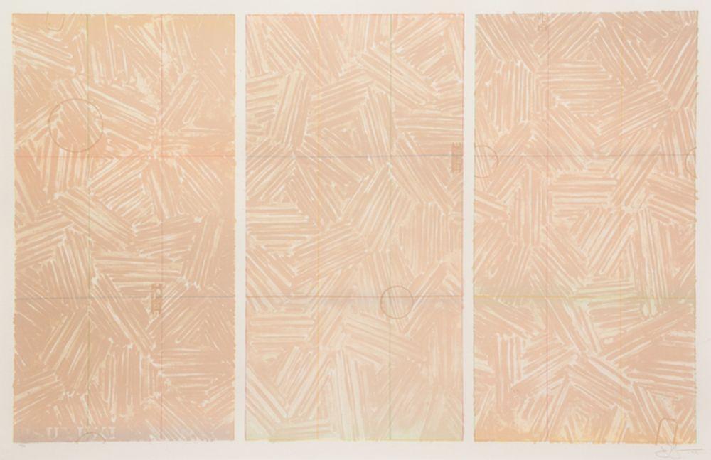 Lithographie Johns - Usuyuki