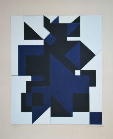 Sérigraphie Vasarely - Utica