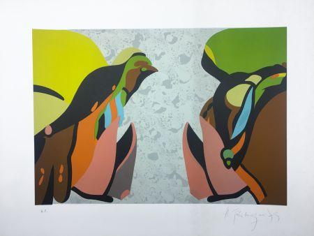 Lithographie Telemaque - UTOPIE (1979).