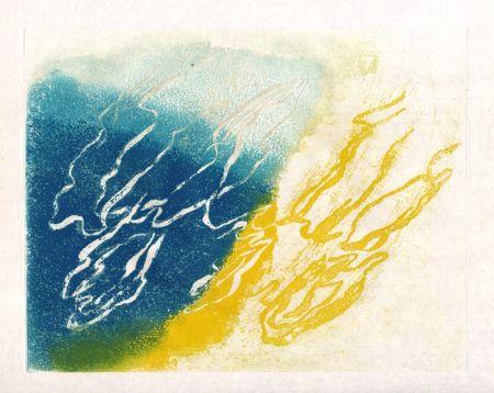 Eau-Forte Et Aquatinte Fautrier - Végétation (Fautrier l'enragé)