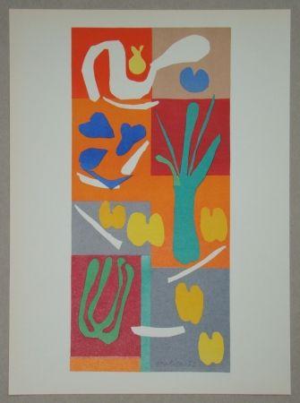 Lithographie Matisse - Végétaux, 1952