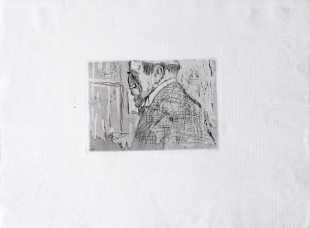 Gravure Vuillard  - Van Rysselberghe