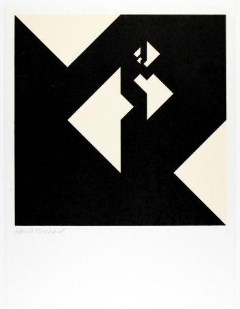 Gravure Sur Bois Bosshard - Variation 12