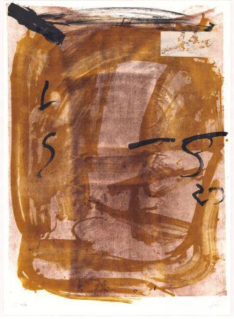 Lithographie Tàpies - Variations