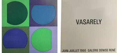 Livre Illustré Vasarely - Vasarely Juin Juillet 1966 - Galerie Denise René