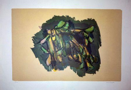 Lithographie Morlotti - Vegetali