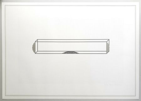 Lithographie Piacentino - Vehicle sculpture. Wall sculpture (c)