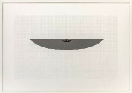 Lithographie Piacentino - Vehicle sculpture. Wall sculpture (d)