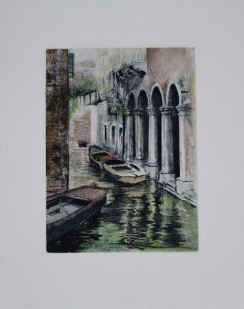 Eau-Forte Et Aquatinte Schibli - Venedig / Venice