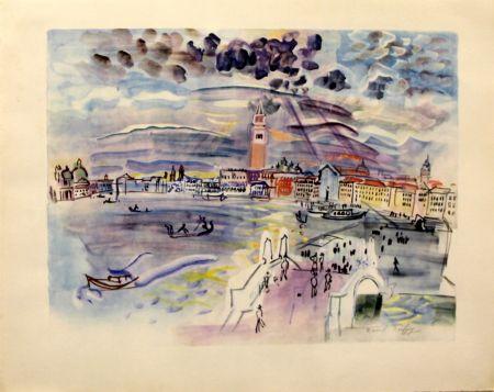 Lithographie Dufy - Venise