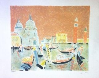 Lithographie Truphemus - Venise