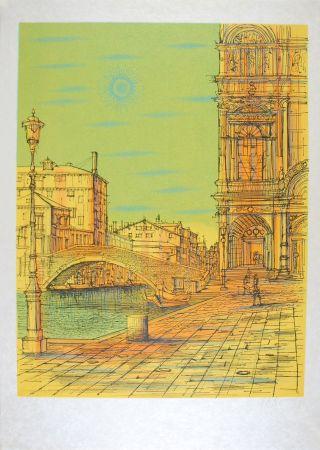 Lithographie Carzou - Venise