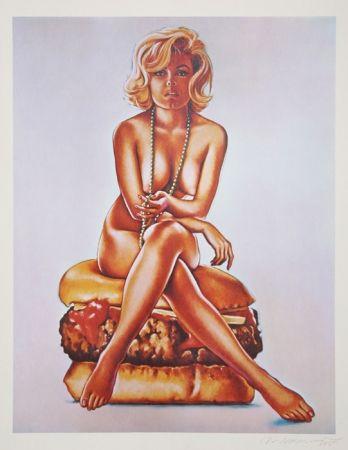 Lithographie Ramos - Verna Burger