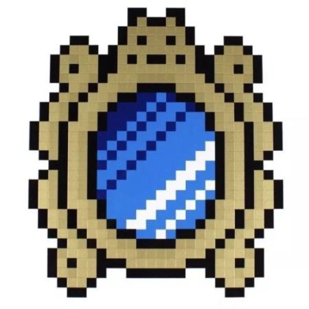 Sérigraphie Space Invader - Versailles (Blue)