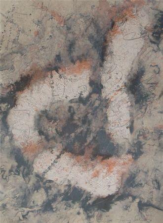 Gravure Salinas - Vertebrated Kof, Inverted