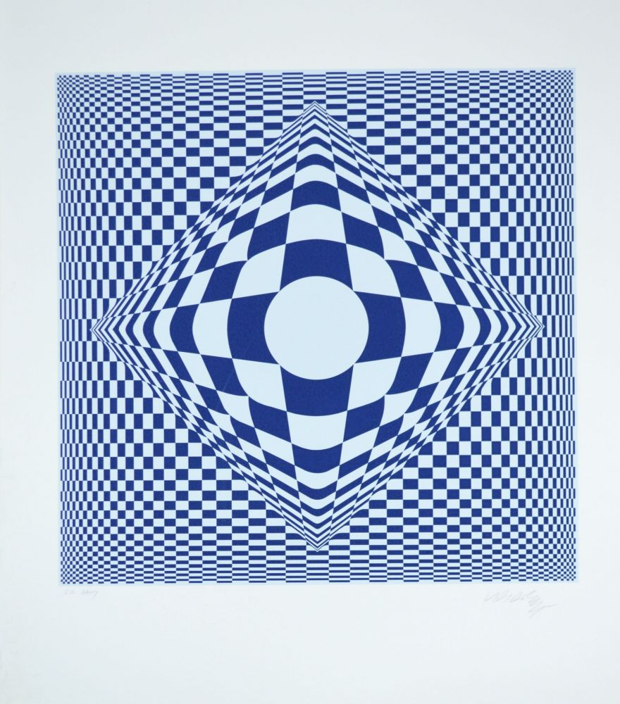 Multiple Vasarely - Vertigo