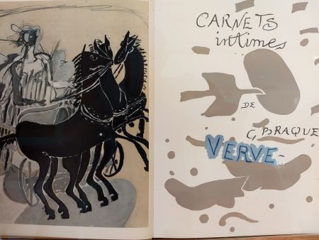 Livre Illustré Braque - Verve 31 32