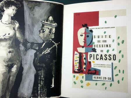 Livre Illustré Picasso - VERVE N° 29-30. PICASSO AND THE HUMAN COMEDY. A suite of 180 drawings by Picasso (Vallauris, suite de 180 dessins de Picasso)