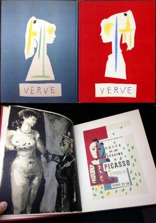 Livre Illustré Picasso - VERVE N° 29-30. Vallauris, suite de 180 dessins de Picasso