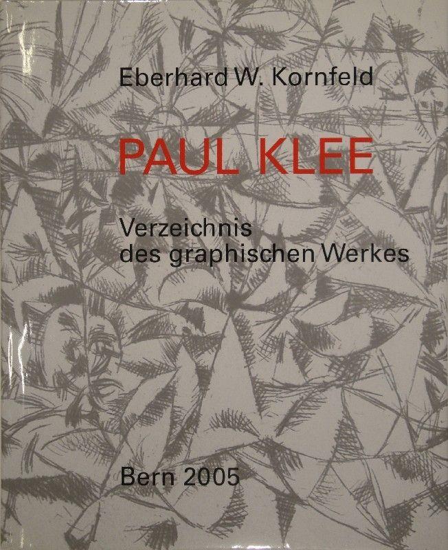 Livre Illustré Klee - Verzeichnis des graphischen Werkes von Paul Klee