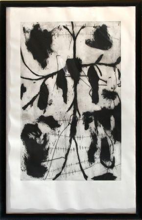 Eau-Forte Et Aquatinte Paladino - Vespero - Triptych #1