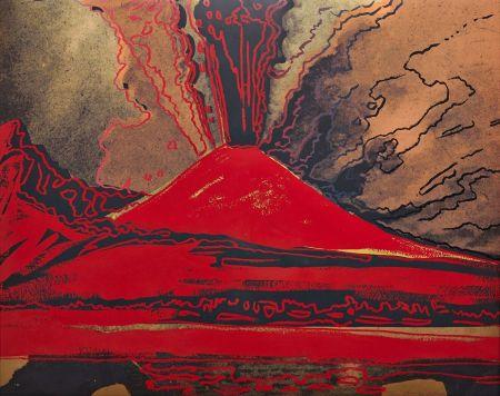 Sérigraphie Warhol - Vesuvius (FS II.365)