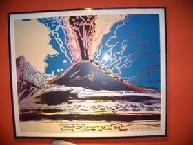 Sérigraphie Warhol - Vesuvius TP