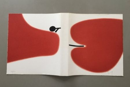Lithographie Pasmore - Victor Pasmore - Untitled Sans Titulo 1972 - Lithograph