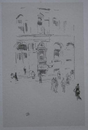 Lithographie Whistler - Victoria Club