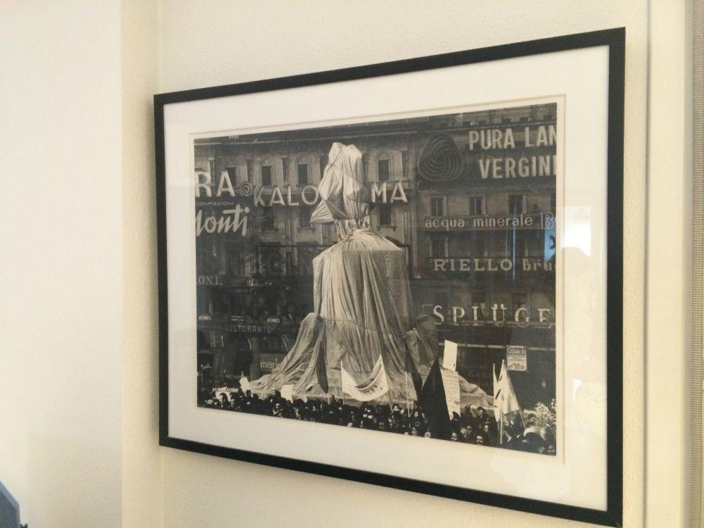 Photographie Christo - Victorio Enmanuel, Piazza del Duomo, Milan