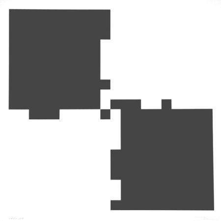 Sérigraphie Lohse - Vier rhythmen an vier feldern