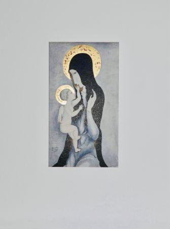 Multiple Foujita - Vierge à l'enfant