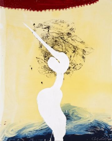 Sérigraphie Schnabel - View of Dawn from the Tropics-Bandini(his foe pursued)