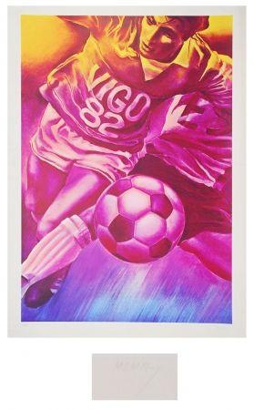 Lithographie Monory - Vigo