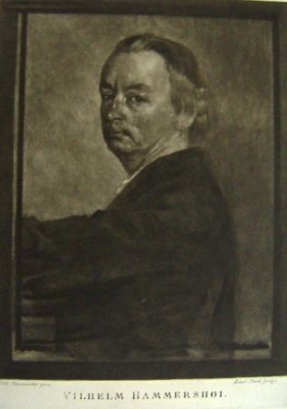 Manière Noire Ilsted - Vilhelm Hammershøi
